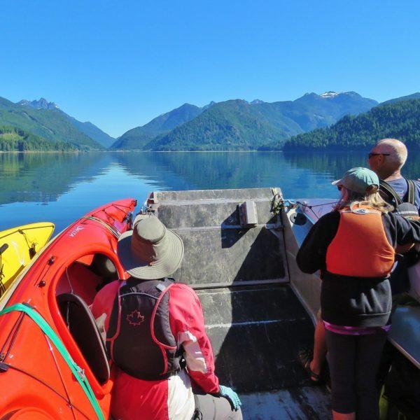 Kayaking in Nootka Sound